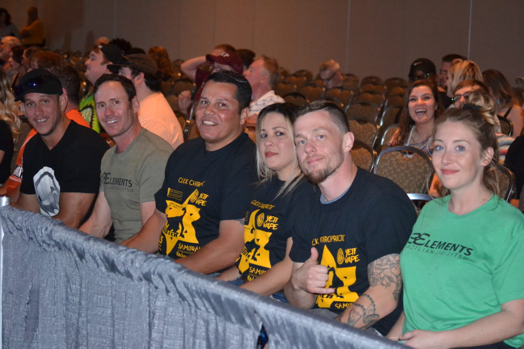 Team at the fights